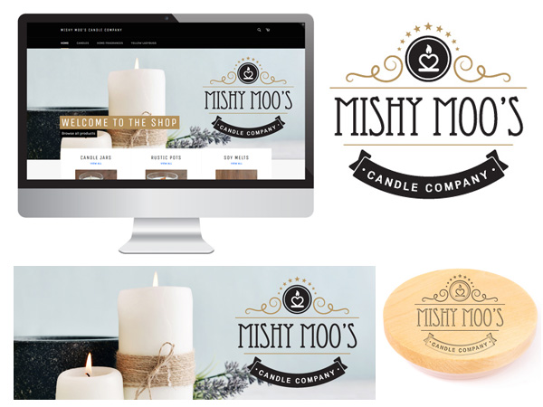 Web Design - Mishy Moos Candle Company